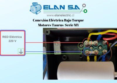 Conexión Bajo Torque Motores