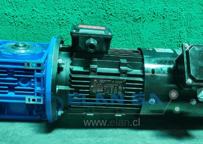 Agitador 380V con Ventilación Forzada